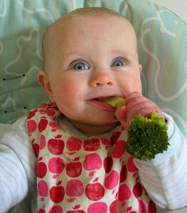 children may eat raw food