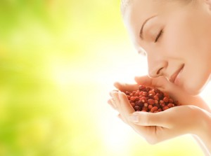 Raw food benefits for skin