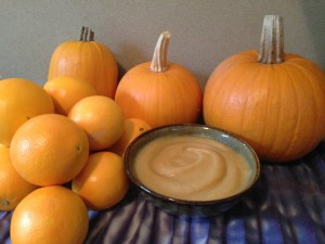 raw pumpkin meal