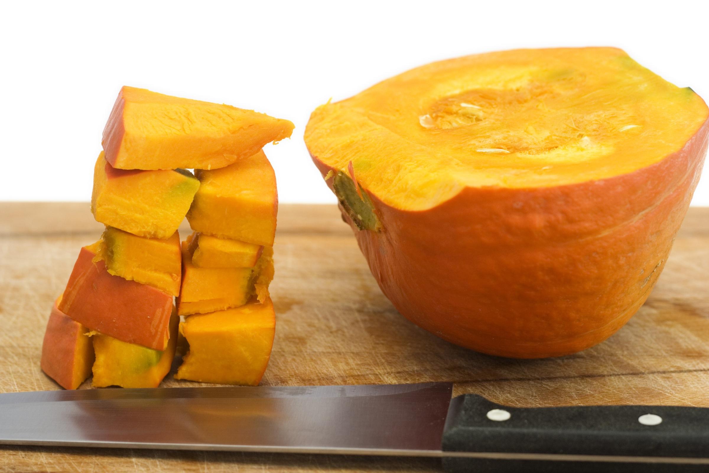 raw pumpkin recipe